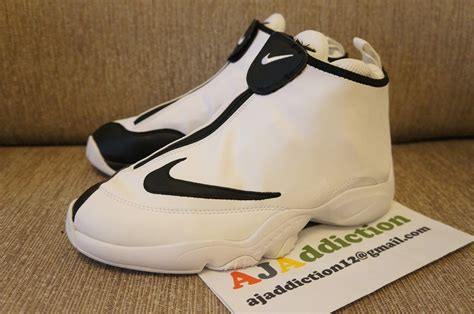 nike zoom flight 98 quot the glove quot white black new
