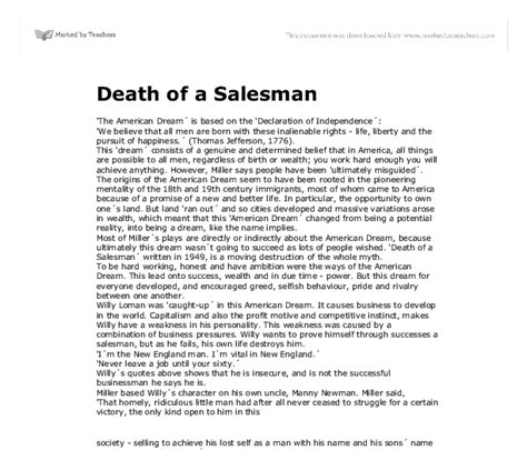 Of Salesman Essay by At Least One Other Person Edit Your Of A Salesman American Essay