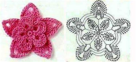 diagram crochet flower 15 diy crochet flower patterns 1001 crochet