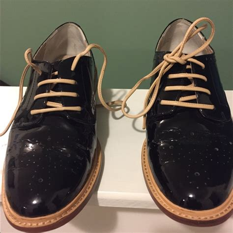 halogen oxford shoes 53 halogen shoes s patent leather oxford low