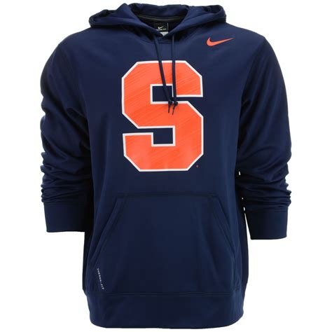 Hoodie Suspension lyst nike mens syracuse orange warp performance hoodie in blue for