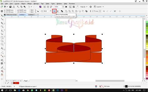 tutorial corel draw x6 membuat banner tutorial coreldraw vektor membuat banner pita dengan