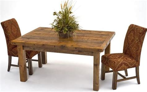 rustic table made from old barn wood things to build