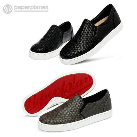 fashion sneakers for new paperplanes pp1371 meshed leather fashion shoes
