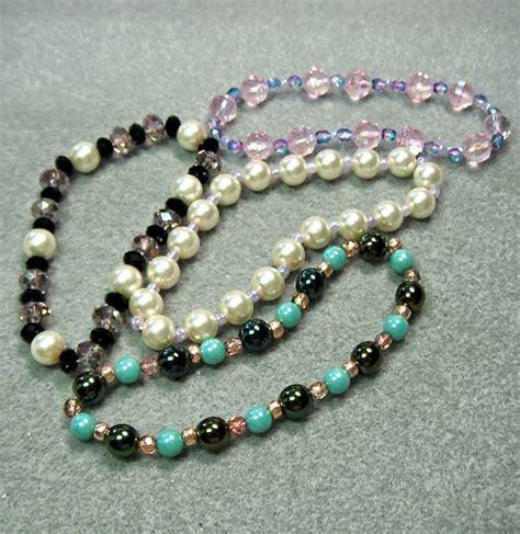 how to make stretch bead bracelets how to make a stretch bracelet beaded jewelry