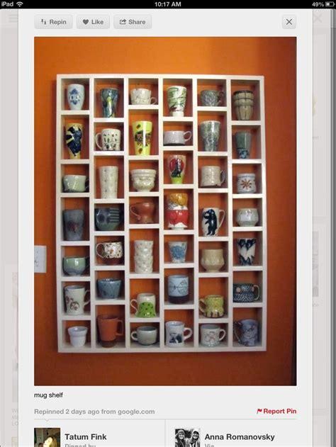 Mug Shelf Kitchen by Coffee Mug Shelf Kitchen Glasses
