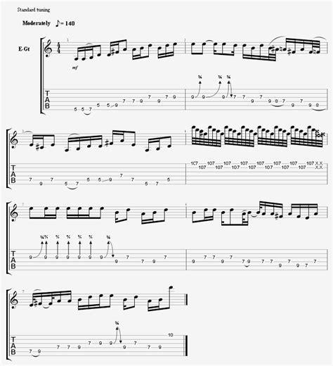 tutorial belajar tab gitar disket tutorial belajar cara membaca tabulasi gitar