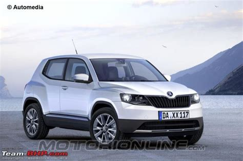 skoda polar suv rival to duster ecosport is coming