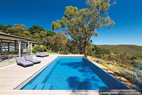 modern pool design a modern pool design that harmonises with the landscape