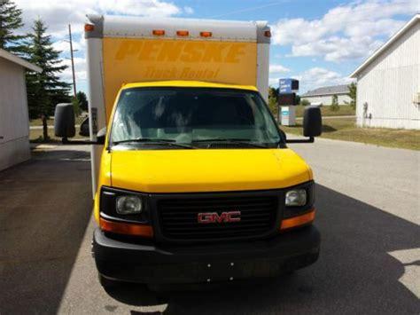 find used 2007 gmc savana 3500 1 ton box truck cargo van in traverse city michigan united