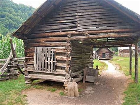 tennessee cabin cades cove log outbuilding maryville