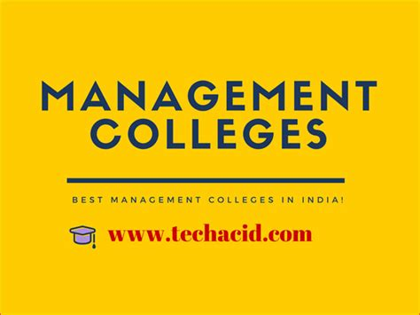 Best Mba Colleges For Operations Management In India by Best Management Colleges In India Technology