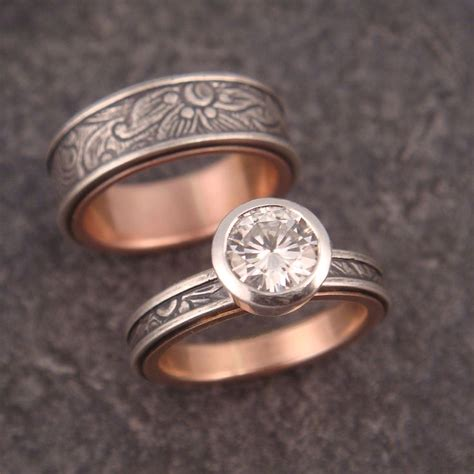 Handmade Wedding Band - 1000 ideas about handmade engagement rings on