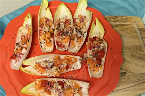 shrimp endive boats shrimp and apricot endive boats jillian does food