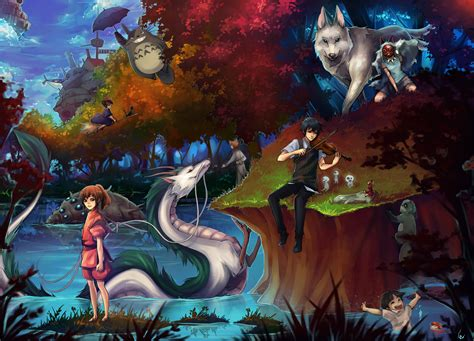 film de ghibli jan 2016 studio ghibli wallpaper background pack