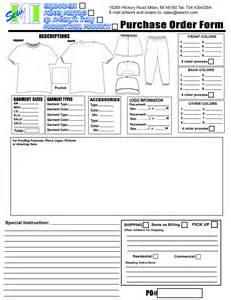 screen print templates print order form pictures to pin on pinsdaddy