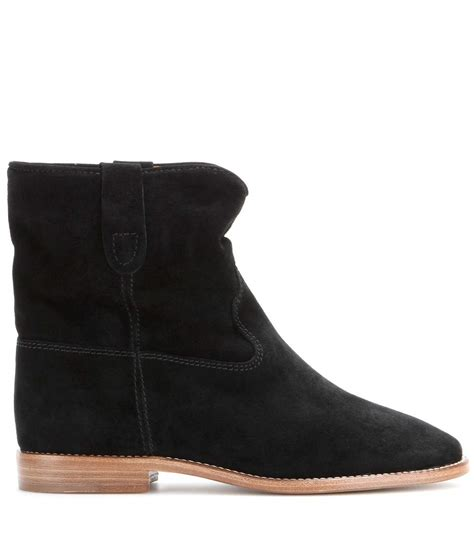 crisi suede ankle boots marant mytheresa