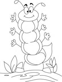 caterpillar coloring pages a caterpillar coloring pages