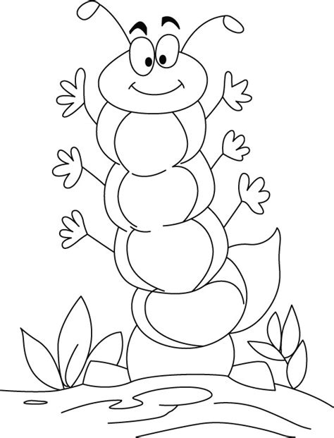free printable coloring pages very hungry caterpillar for