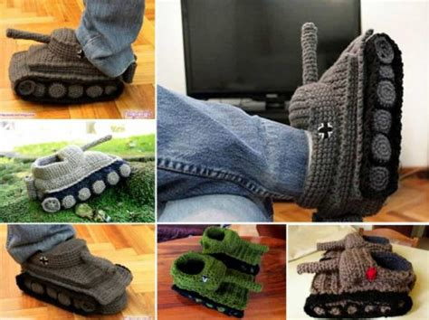 tank slippers crochet pattern free tank crochet slippers you ll these patterns the whoot