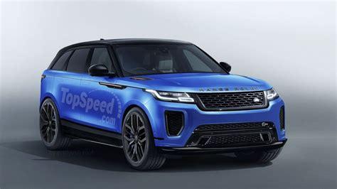 range rover svr engine 2019 range rover velar svr price release date styling