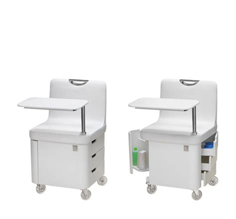White Salon Chairs Nilo Profy Nails Manicure Table