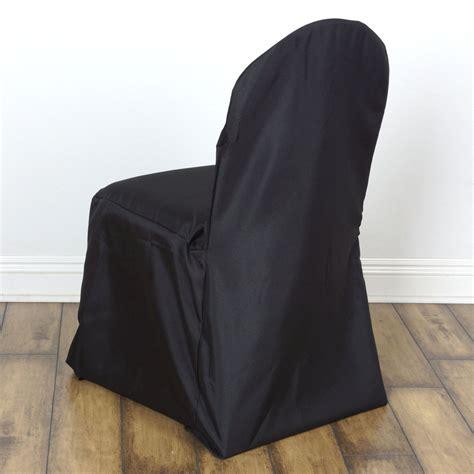 black chair slipcover black banquet chair covers efavormart