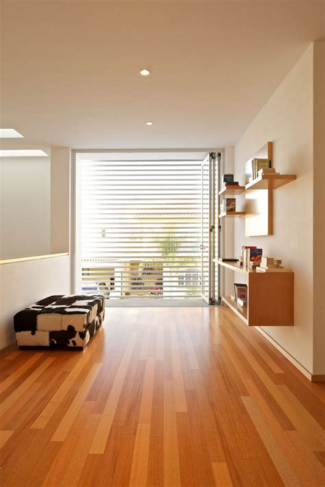 wooden floor house interior second floor lounge room modern minimalist house design with waterproof laminate wood