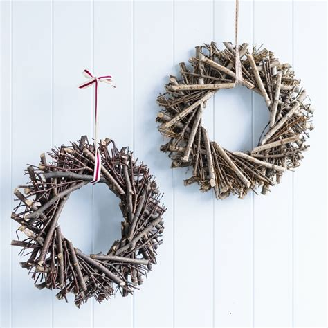 48 best natural christmas wreaths images on pinterest