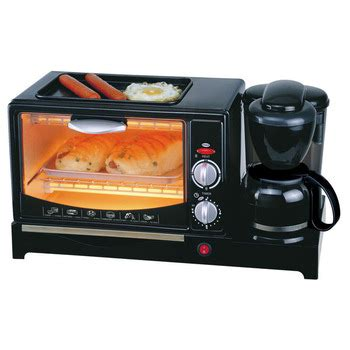 Nan Stainless 555 3 in 1 naan bread machine for breakfast with coffee