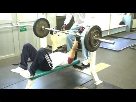 bench press alone del 80kg bench press youtube