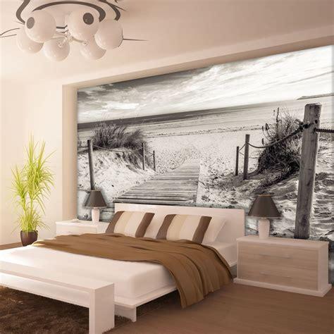 schlafzimmer fototapete fototapete fototapeten tapeten strand sand meer