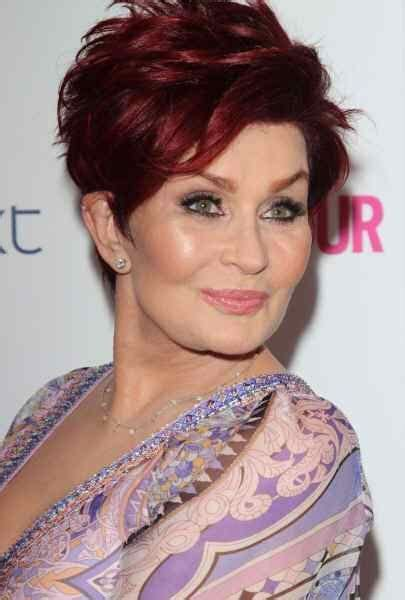 ideas for hair styles when giving birth 1000 ideas about sharon osbourne hairstyles on pinterest