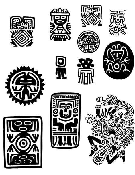 gallery for gt simbolos incas tatuajes pinterest maya