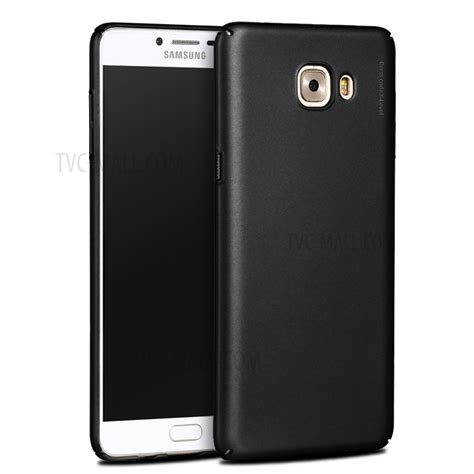 Black Matte Samsung C9 Pro x level frosted pc phone back for samsung galaxy