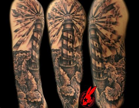 lighthouse tattoos lighthouse by jackie rabbit by jackierabbit12 on