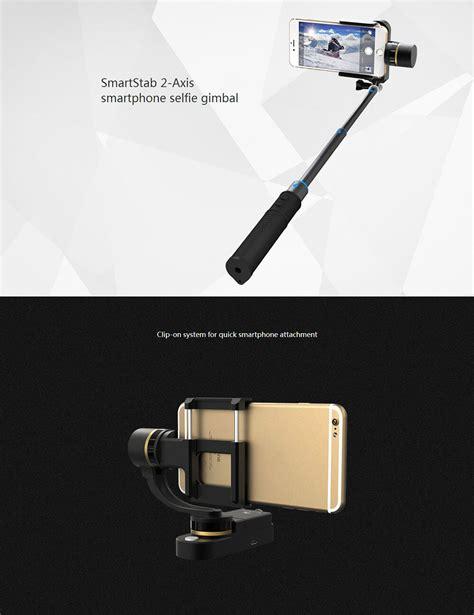 Feiyu Tech Tongsis Smartstab 2 Axis Selfie Gimbal For S Diskon 1 feiyu tech smartstab 2 axis smarphone selfie gimbal