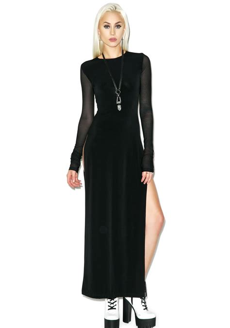 Label Maxi by Black Wednesday Black Label Maxi Dress Dolls Kill