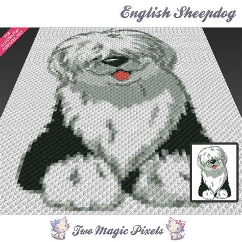 pattern magic english pdf free download english sheepdog crochet blanket pattern by