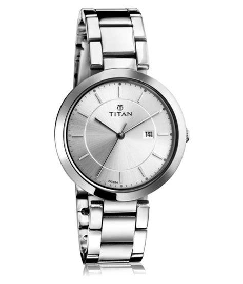 titan silver analog for price in india buy