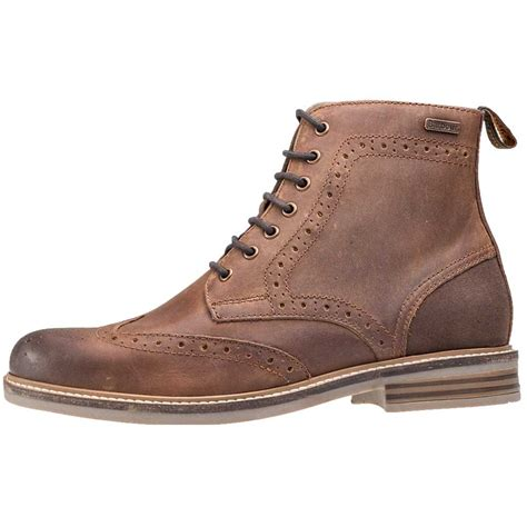 mens brogue boots barbour belsay brogue derby mens boots in