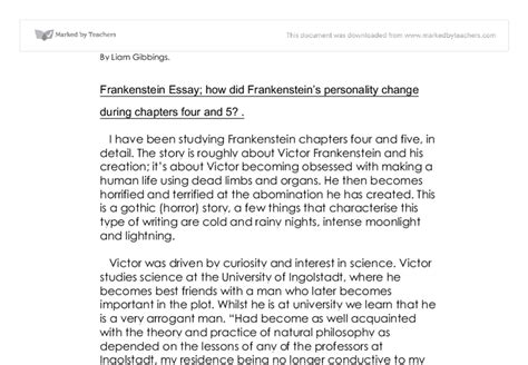 thesis statement for frankenstein thesis statement for frankenstein essay 28 images