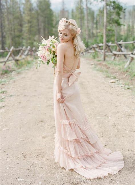 Brautkleider In Rosa by Rosa Brautkleid F 252 R Einen 246 Sen Hochzeits Look