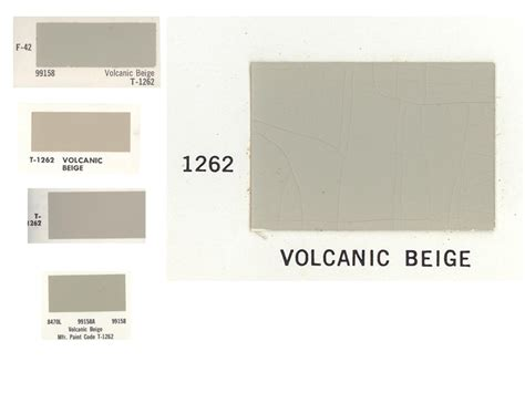 1962 volcanic beige paint code ih8mud forum