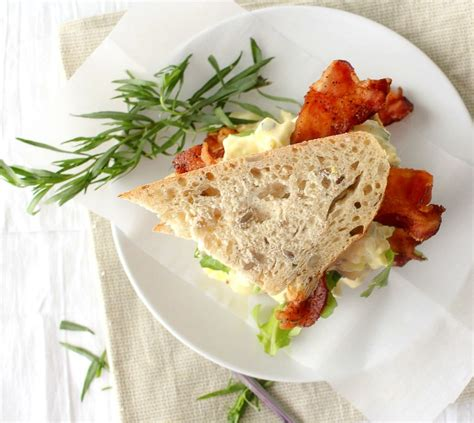 Egg Salad Shelf tarragon and shallot egg salad the chunky chef