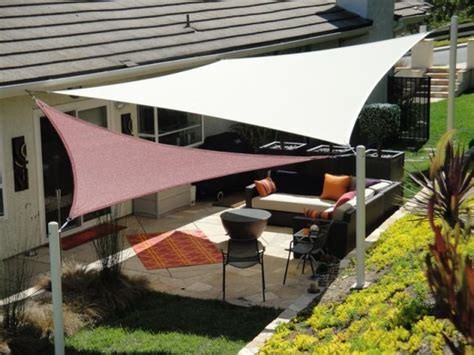 patio shade sails covers dennis s garden