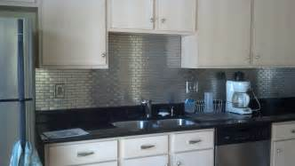 metal backsplash tiles for kitchens 5 diy stainless steel kitchen makeovers on the cheap do it yourself ideas