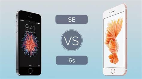 iphone se vs iphone 6s best specs and features comparison neurogadget