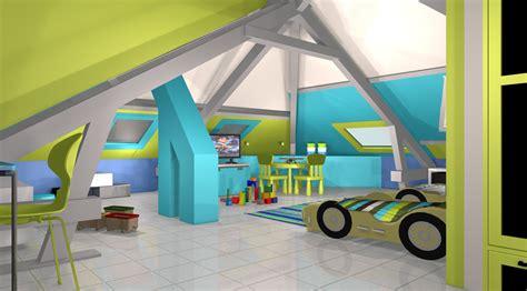 chambre enfant bleu et vert d 233 co chambre turquoise et vert anis