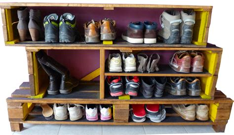meuble chaussures palette
